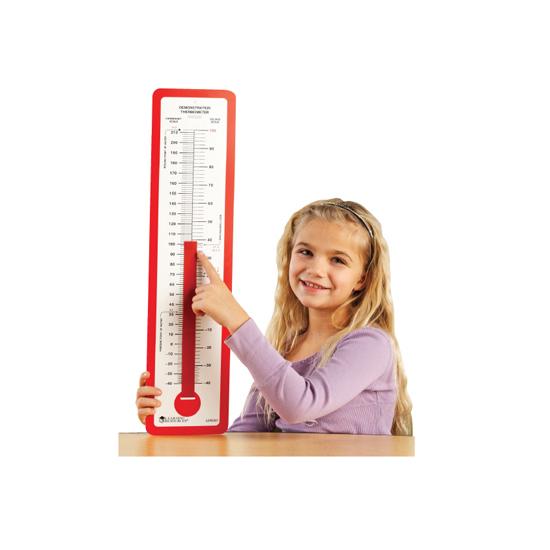 超大教学温度计