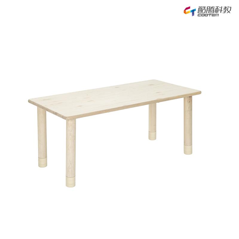 童话王国实木6人桌(含桌脚)