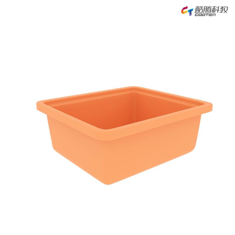 多彩教具盒小-桔黄