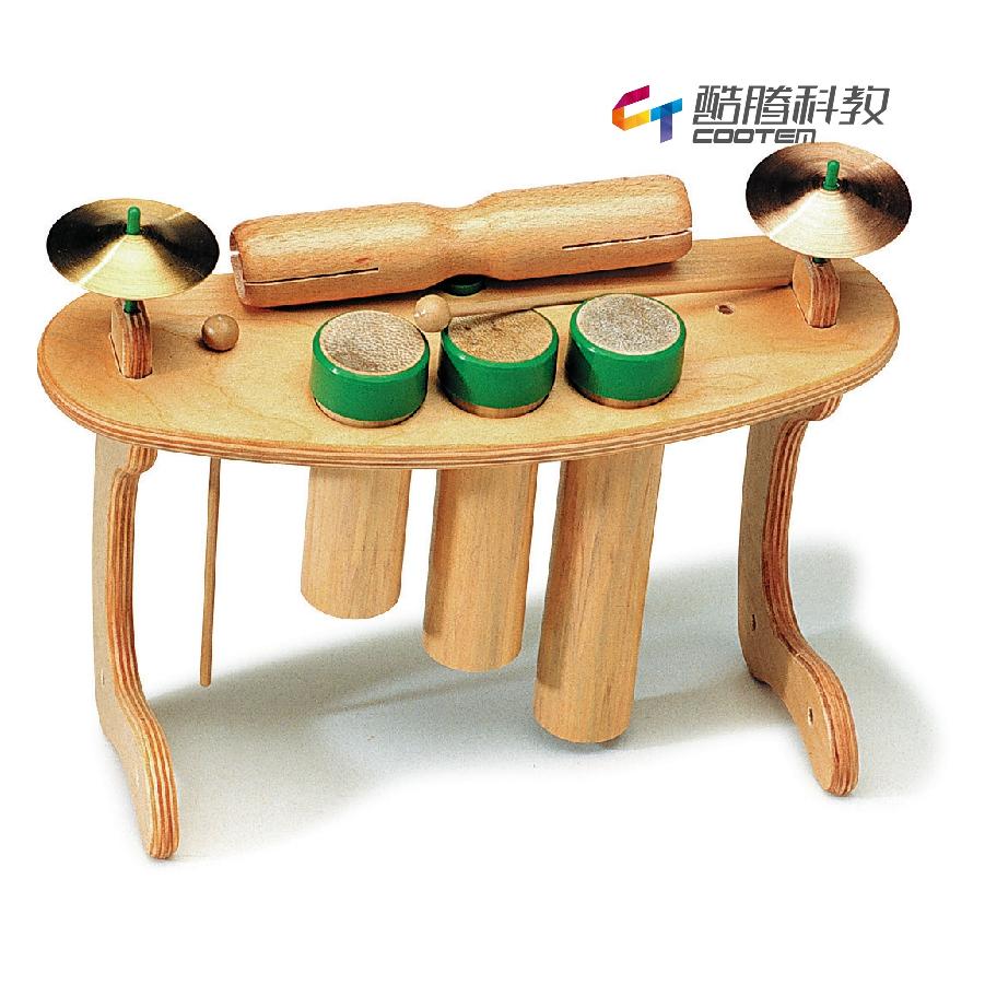三音鼓、镲、双响桶