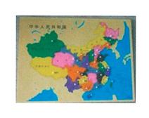 中国地图嵌板