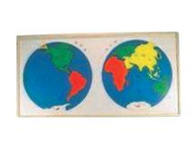 世界洲际地图嵌板