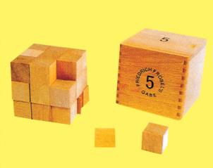 福氏(6)九公分立方体