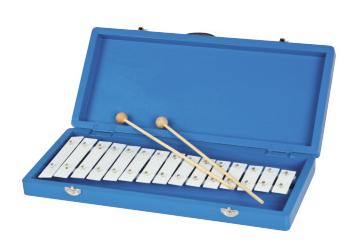 15音铝板琴