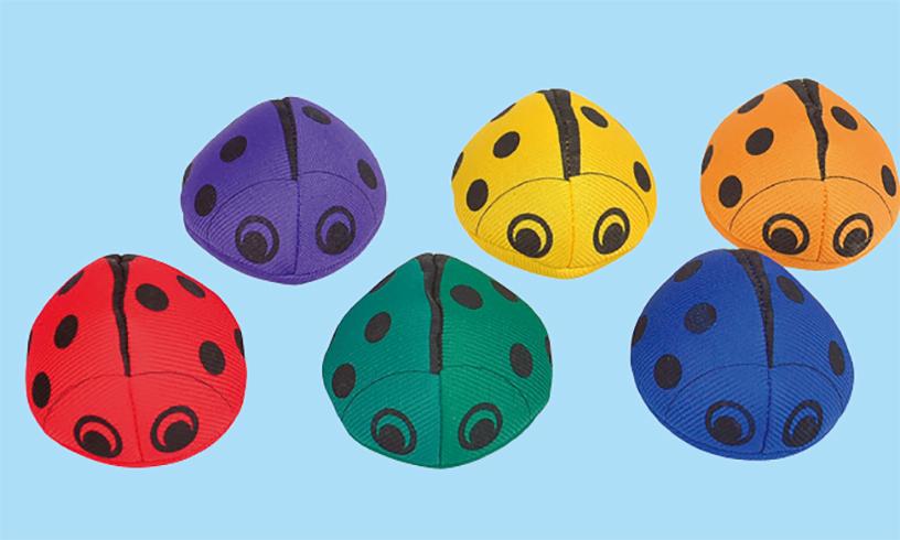 瓢虫豆袋组