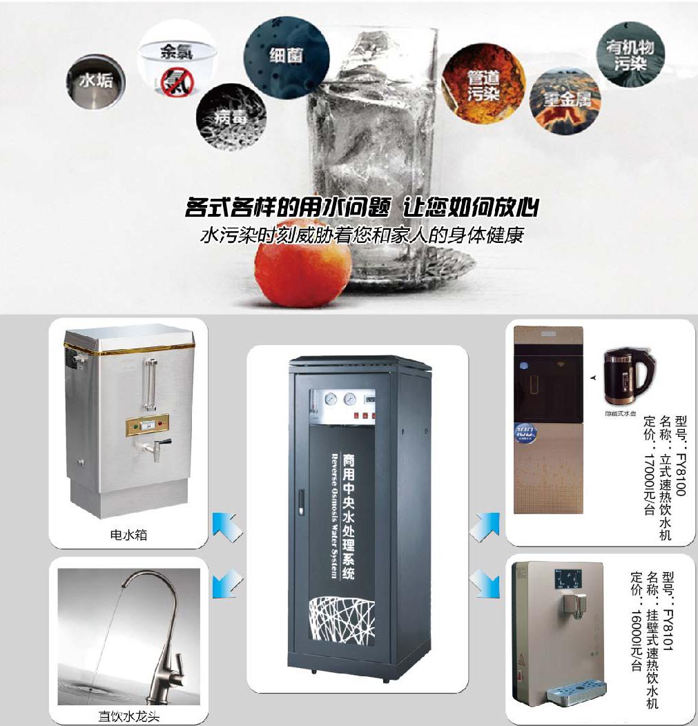挂壁式速热饮水机