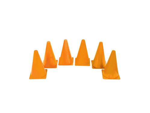 橙色标志桶