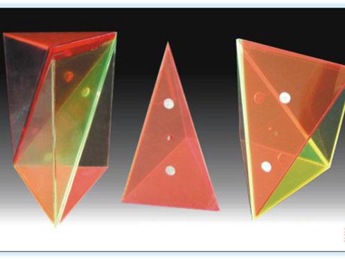 三棱锥体积公式模型(剖