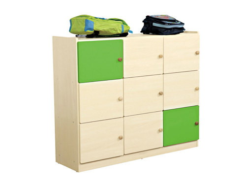 9格书包柜 叶绿色