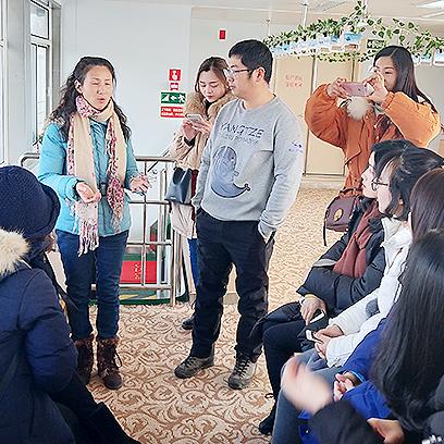助力金陵小学江豚教育活动