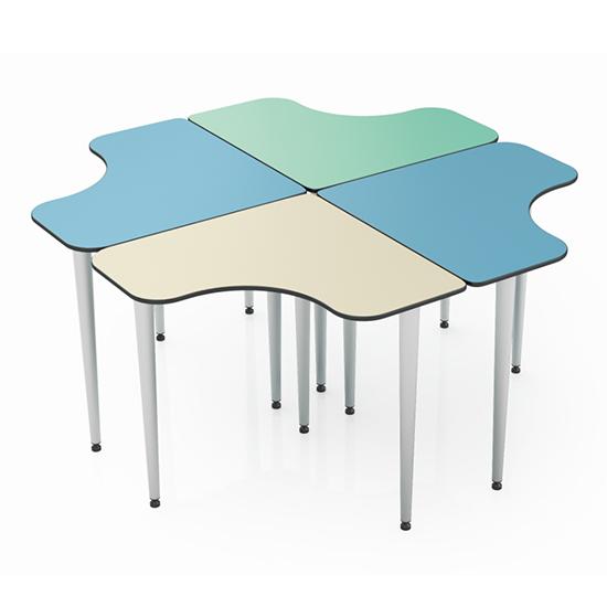 L形组合桌
