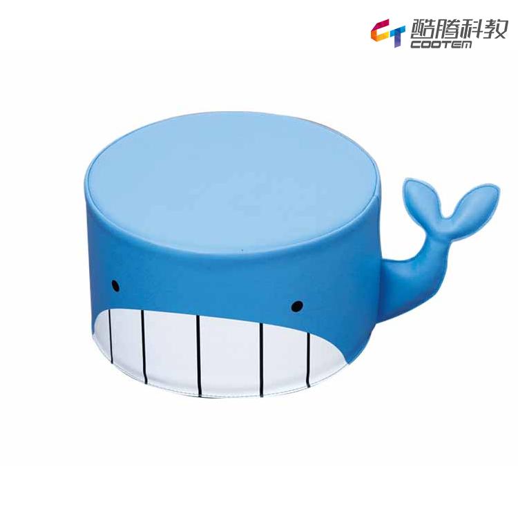 鲸鱼圆凳沙发