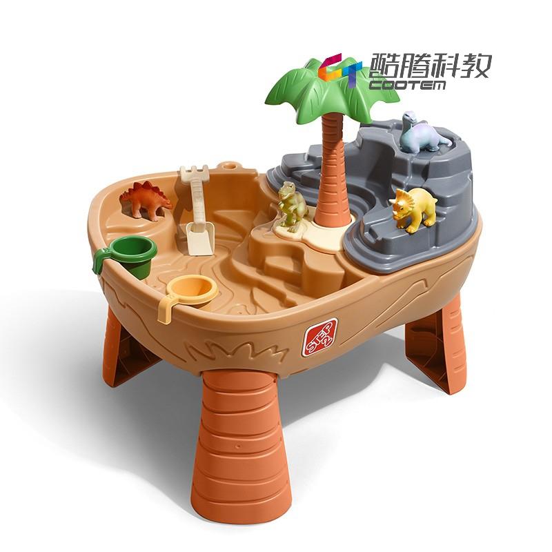 恐龙乐园玩沙戏水台