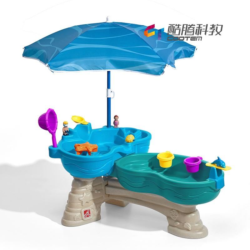 双池戏水台