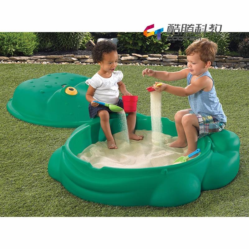 蛙蛙玩沙戏水箱