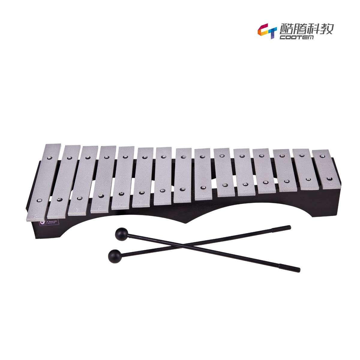 15音金属键桥形打琴